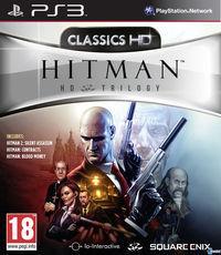 Portada oficial de Hitman HD Trilogy para PS3