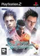 Portada oficial de de Virtua Fighter 4 Evolution para PS2