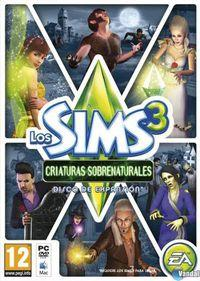 Portada oficial de Los Sims 3 Criaturas Sobrenaturales para PC