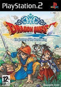 Portada oficial de Dragon Quest: El Periplo del Rey Maldito para PS2