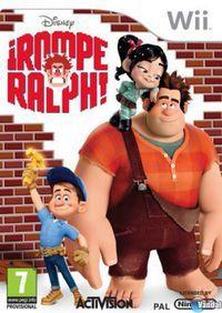 Portada oficial de ¡Rompe Ralph! para Wii