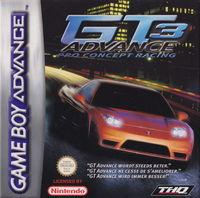 Portada oficial de GT Advance 3: Pro Concept Racing para Game Boy Advance