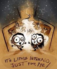 Portada oficial de Little Inferno para PC