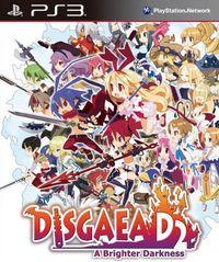Portada oficial de Disgaea Dimension 2: A Brighter Darkness para PS3