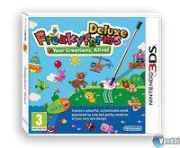 Portada oficial de Freakyforms Deluxe: ¡Tus creaciones cobran vida! para Nintendo 3DS