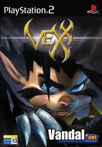 Portada oficial de Vexx para PS2