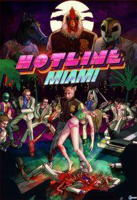 Portada oficial de Hotline Miami para PC