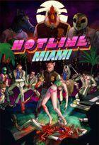 Portada oficial de de Hotline Miami para PC