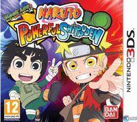Portada oficial de Naruto: Powerful Shippuden para Nintendo 3DS