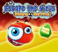 Portada oficial de Escape the Virus: Swarm Survival DSiW para NDS