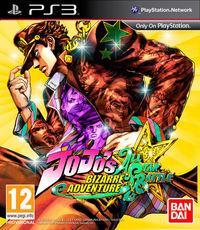 Portada oficial de JoJo's Bizarre Adventure All Star Battle para PS3