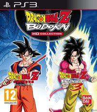 Portada oficial de Dragon Ball Z Budokai HD Collection para PS3