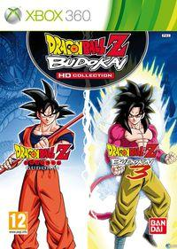 Portada oficial de Dragon Ball Z Budokai HD Collection para Xbox 360