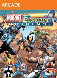 Portada oficial de Marvel vs Capcom Origins XBLA para Xbox 360
