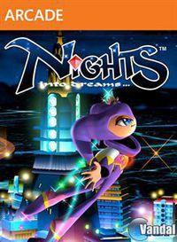 Portada oficial de NiGHTS into Dreams HD XBLA para Xbox 360
