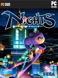 Portada oficial de NiGHTS into Dreams HD para PC