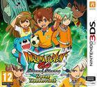 Portada oficial de de Inazuma Eleven Go Chrono Stones: Llamarada y Trueno para Nintendo 3DS