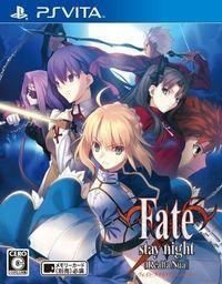 Portada oficial de Fate/Stay Night [Realta Nua] para PSVITA