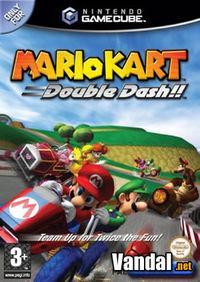 Portada oficial de Mario Kart: Double Dash para GameCube