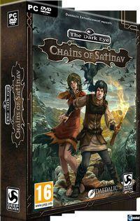 Portada oficial de The Dark Eye: Chains of Satinav para PC