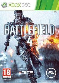 Portada oficial de Battlefield 4 para Xbox 360