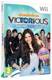 Portada oficial de Victorious: Salto a la fama para Wii