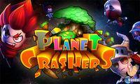 Portada oficial de Planet Crashers eShop para Nintendo 3DS