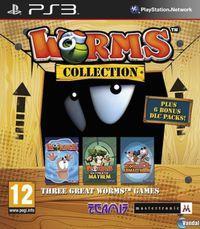 Portada oficial de Worms Collection para PS3