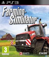 Portada oficial de Farming Simulator 2013 para PS3