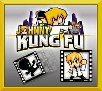 Portada oficial de Johnny Kung Fu eShop para Nintendo 3DS