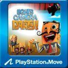 Portada oficial de de Lights, Camera, Party! para PS3