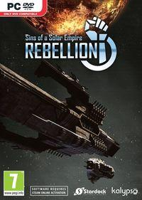 Portada oficial de Sins of a Solar Empire: Rebellion para PC