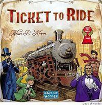 Portada oficial de Ticket to Ride para PC