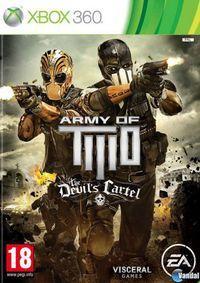 Portada oficial de Army of Two: The Devil's Cartel para Xbox 360
