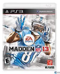 Portada oficial de Madden NFL 13 para PS3