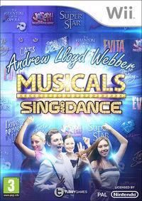 Portada oficial de Andrew Lloyd Webber Musicals: Sing and Dance para Wii