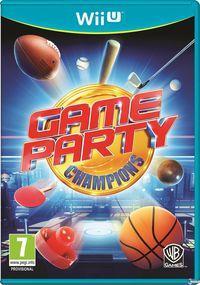 Portada oficial de Game Party Champions para Wii U