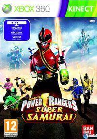 Portada oficial de Power Rangers Super Samurai para Xbox 360