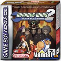Portada oficial de Advance Wars 2 para Game Boy Advance