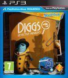Portada oficial de de Wonderbook: Diggs - Detective Privado para PS3