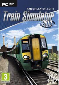 Portada oficial de Train Simulator 2013 para PC