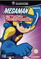 Portada oficial de de Megaman Network Transmission para GameCube