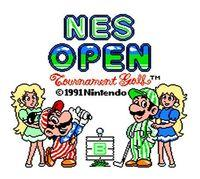 Portada oficial de NES Open Tournament Golf CV para Nintendo 3DS