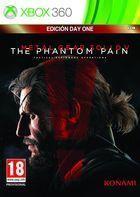 Portada oficial de de Metal Gear Solid V: The Phantom Pain para Xbox 360