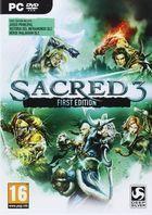 Portada oficial de de Sacred 3 para PC