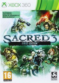 Portada oficial de Sacred 3 para Xbox 360