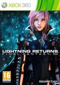 Portada oficial de Lightning Returns: Final Fantasy XIII para Xbox 360
