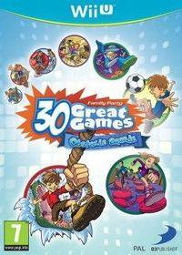 Portada oficial de Family Party: 30 Great Games Obstacle Arcade eShop para Wii U