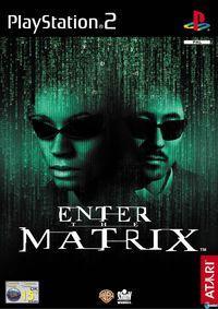Portada oficial de Enter the Matrix para PS2