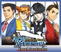 Portada oficial de Phoenix Wright: Ace Attorney - Dual Destinies eShop para Nintendo 3DS